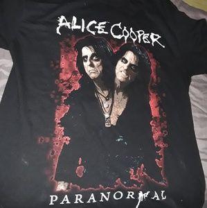 Alice cooper tour tee